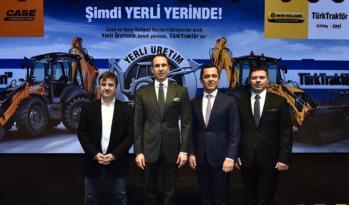 Türk Traktör İş Makinesi Üretimine Başlıyor.
