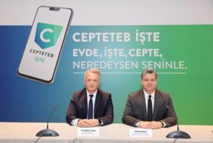 TEB, yeni mobil uygulaması CEPTETEB İŞTE, KOBİ'lere kolaylık sağlıyor.