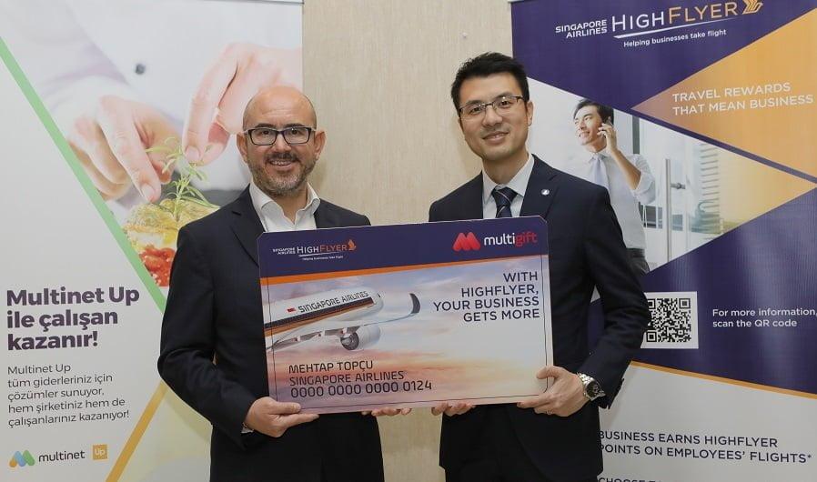Multinet ile Singapur Havayolları'ndan İşbirliği.