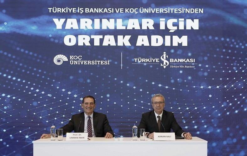 İş Bankası ve Koç Üniversitesi'nden Yapay Zekâ Uygulama ve Araştırma Merkezi.