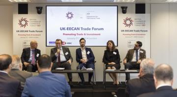 EECAN için Birleşik Krallık Yatırımcıları Harekete Geçiriyor.