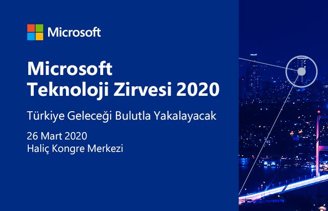 7. Microsoft Teknoloji Zirvesi'ne geri sayım başladı.