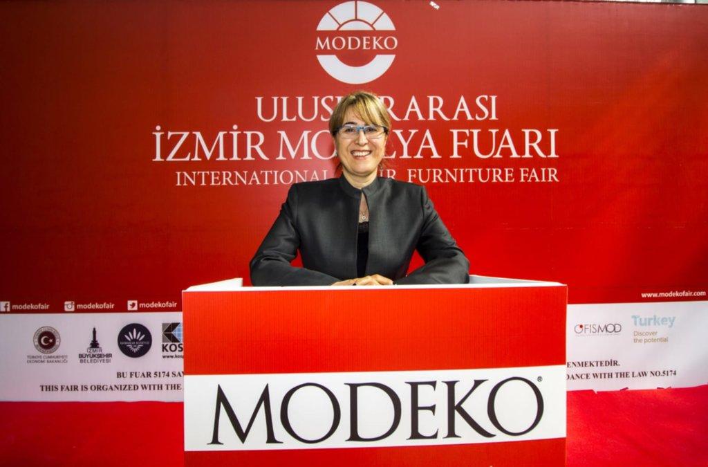 Mobilyada global ticaretin İzmir'den dünyaya açılan kapısı; MODEKO.