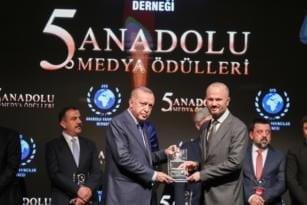 """""""Ekonomiye Güç Katanlar Ödülü"""" PTT'nin."""