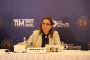 Ticaret Bakanı Ruhsar Pekcan'dan Gıda İhracatçılarına Açık Çek.