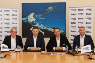 Otokar ve IVECO BUS üretim anlaşması imzaladı.