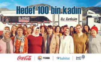 Coca-Cola Kız Kardeşim Projesi 2020, 100 Bin Kız Kardeş'e ulaşacak.