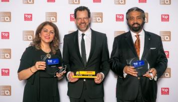 """DHL Express bu yıl da """"En İyi Global İşveren"""" listesinde."""