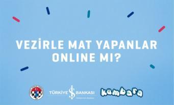 İş Bankası'ndan çocuklar için online satranç turnuvası.