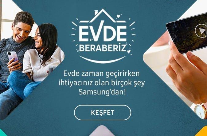Samsung'tan Evde Keyifli Zaman Geçirmeniz İçin Keyifli Kampanya.