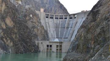 Yusufeli Barajında Üst Seviye Önlemlerle Çalışmalar Sürüyor.