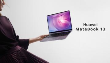 Yeni HUAWEI MateBook 13 artık Türkiye'de!