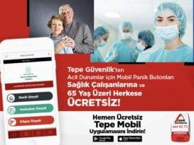 Tepe Güvenlik'ten 65 Yaş Üstü Bireyler ve Sağlık Çalışanları İçin Örnek Uygulama!