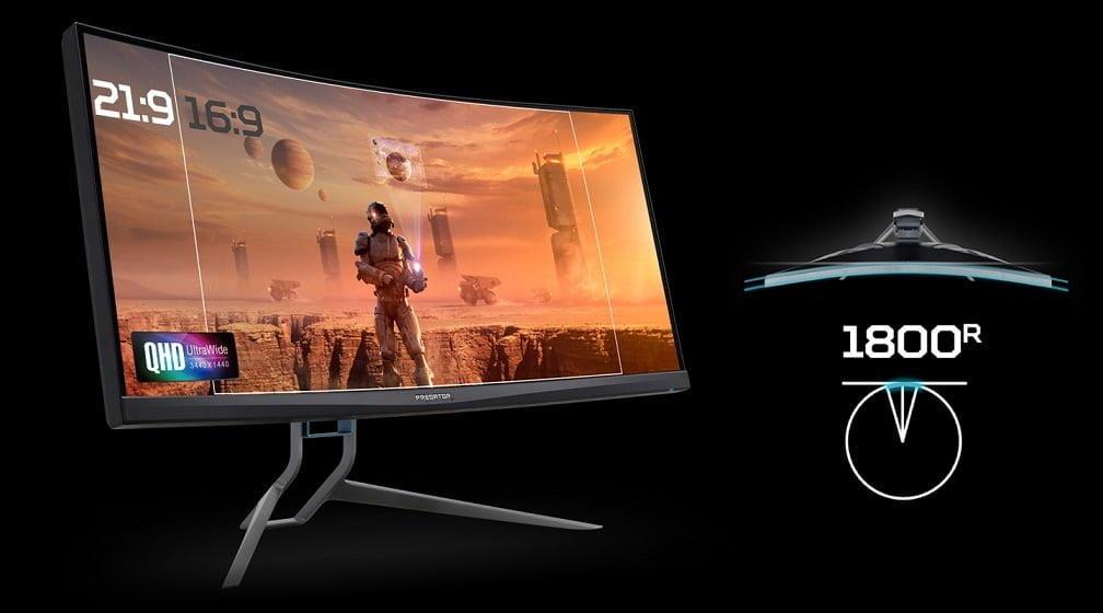 Kavisli Monitörlü Acer Predator X35'le aksiyonun ortasına ışınlanın.