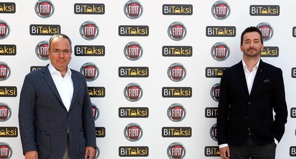 BiTaksi ve Fiat'tan Örnek İşbirliği.