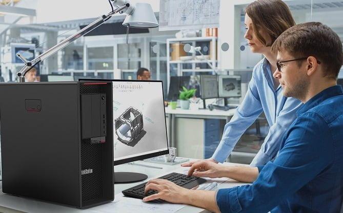 Lenovo dünyadaki ilk AMD Ryzen™ ThinkStation P620'yi tanıttı.
