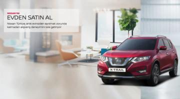 """Nissan tüm dijital uygulamalarını """"Evden Satın Al"""" başlığı altında topladı."""