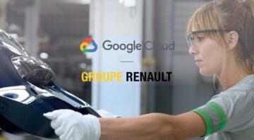 GROUPE RENAULT VE GOOGLE CLOUD'DAN İŞ BİRLİĞİ.