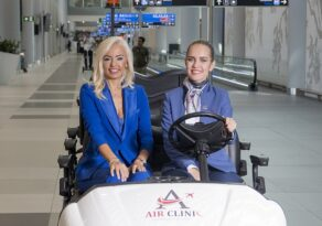 Pandemiye rağmen havalimanında 50 bin yolcuya hizmet