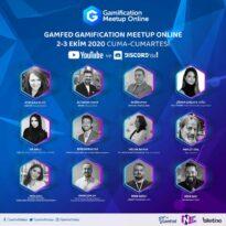 4. Gamification Meetup 2-3 Ekim'de online yapılacak