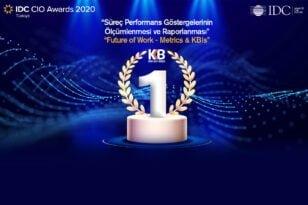 Kredi Kayıt Bürosu'na IDC Türkiye'den Birincilik Ödülü