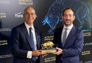 """Ak Portföy """"En Yaratıcı Sermaye Piyasası Projesi 2019"""" ödülünü aldı."""