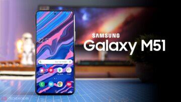 Galaxy M51 ön siparişte