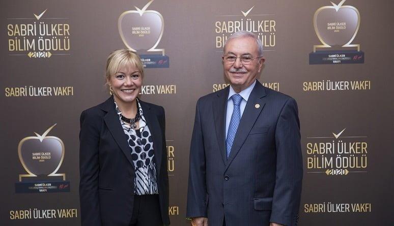 Sabri Ülker Bilim Ödülü Türk bilim insanı Doç. Dr. Elçin Ünal'a verildi