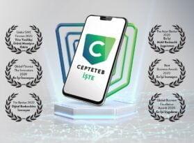 CEPTETEB İŞTE'ye iki uluslararası ödül