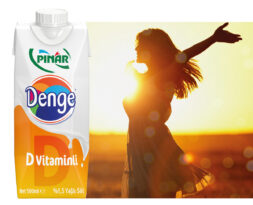 """Pınar'dan yeni ürün: """"Pınar Denge D Vitaminli Süt"""""""