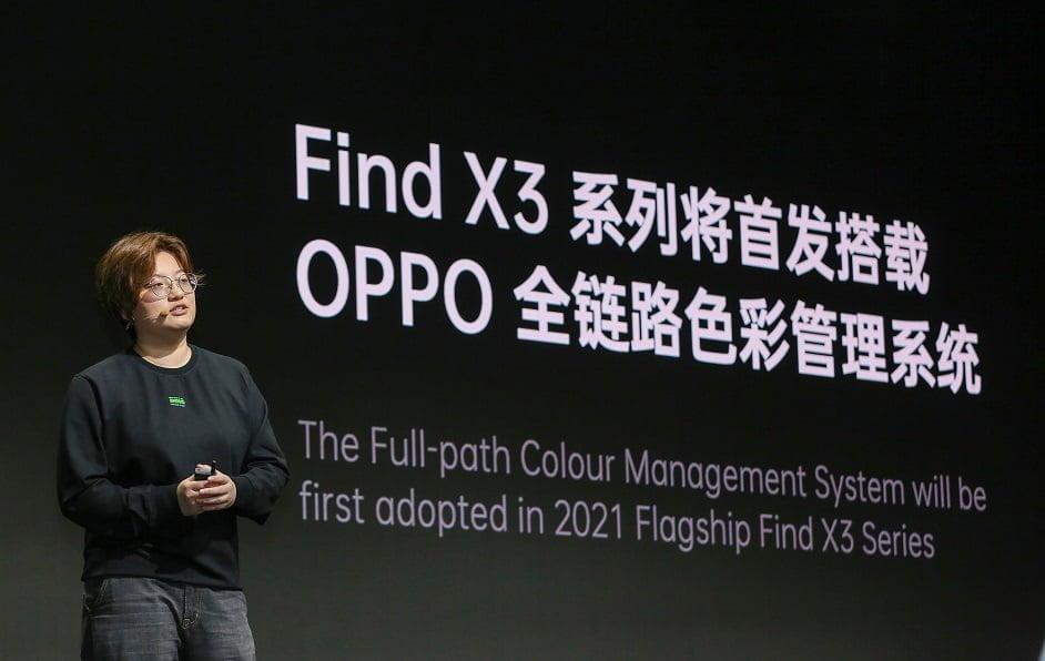 OPPO Mutlak Renk Yönetim Sistemini Tanıttı