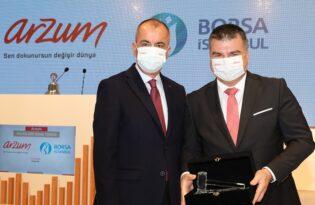 Borsa İstanbul'da Gong Arzum İçin Çaldı