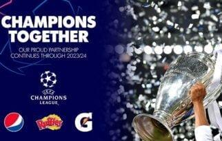 PEPSICO ve UEFA İş Birliği 2024 Yılına Kadar Uzatıldı.