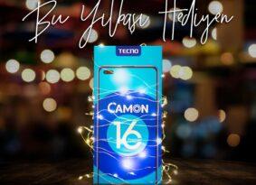 Selfie çekmeye seveler için TECNO CAMON 16 Premier