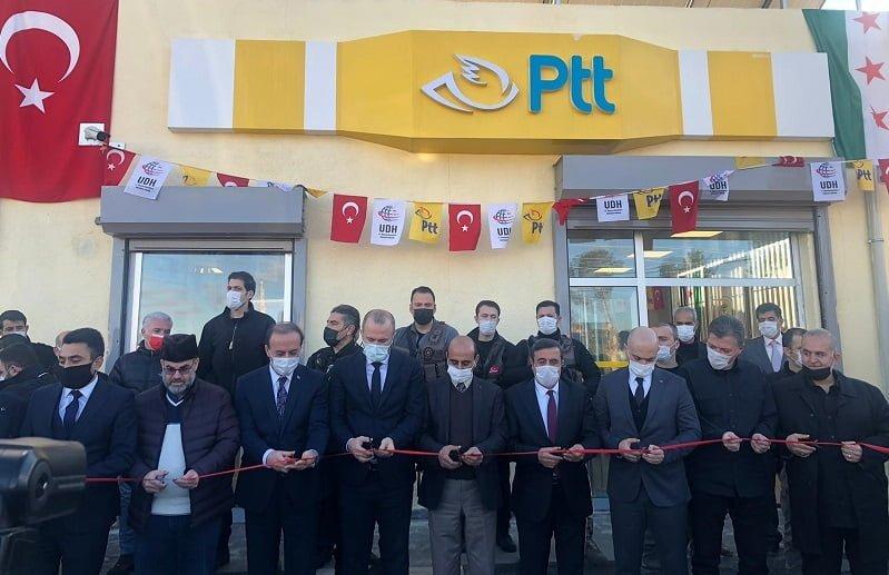 PTT A.Ş.' den Tel Abyad'da yeni hizmet noktası