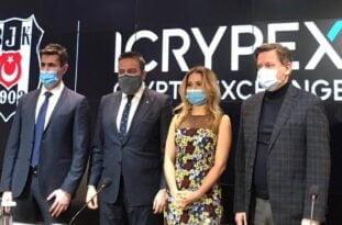 ICRYPEX Beşiktaş'a sponsor oldu