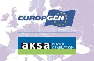 Aksa Jeneratör Europgen'in Üyesi Oldu