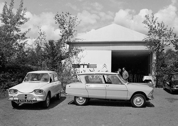 Citroën Ami 6, 60'ıncı yaşını kutluyor