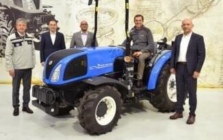Türk Traktör Yeni bir traktörün ihracatına başladı