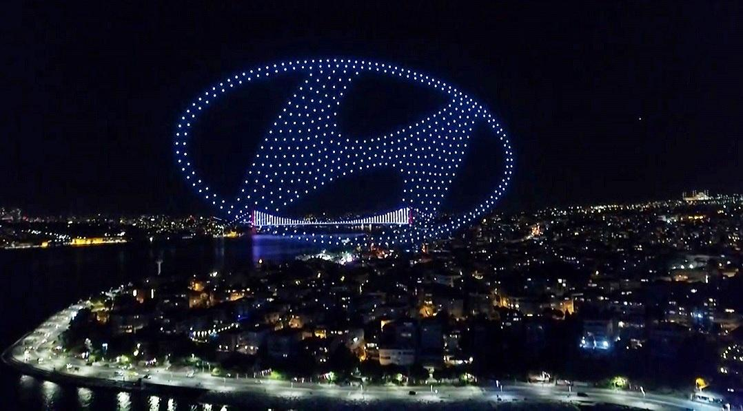 Hyundai Tucson Işığıyla İstanbul'u Aydınlattı