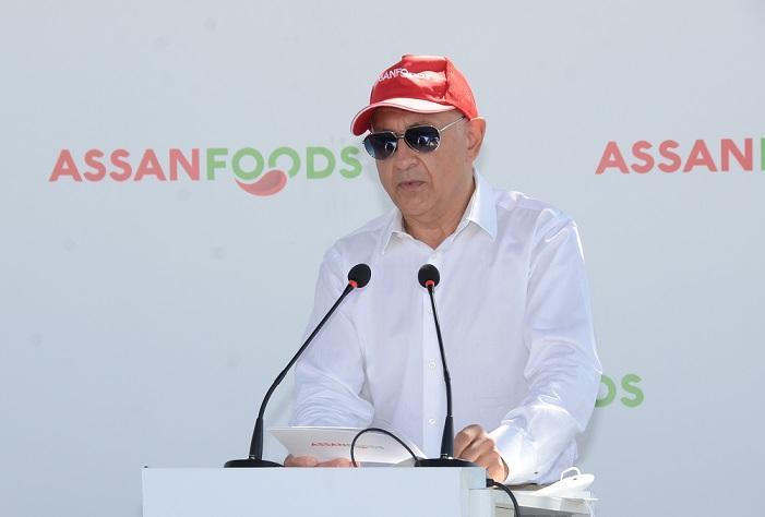 Assan Foods Yeni Domates İşleme Sezonunu Açtı