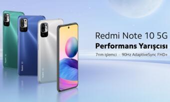 Heyecanla beklenen Redmi Note 10 5G satışta