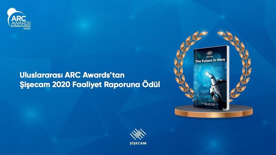 Şişecam'ın Faaliyet Raporu'na ARC'den Bronz Ödül