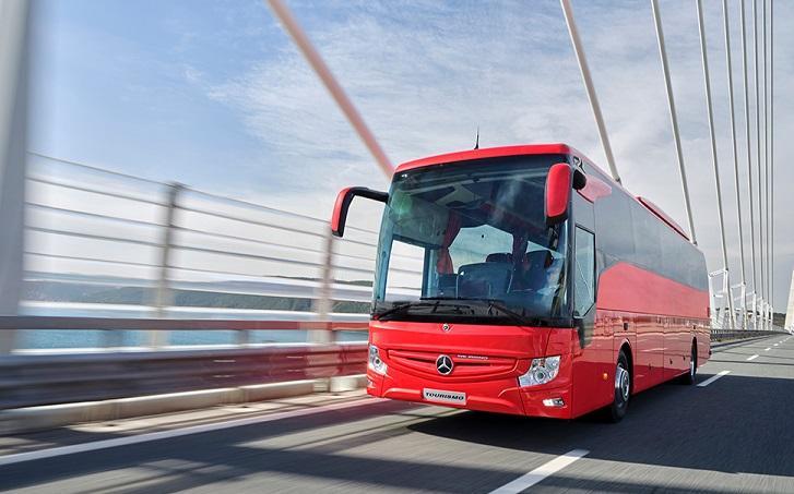 Her 2 Mercedes-Benz otobüsten 1'i servis sözleşmeli